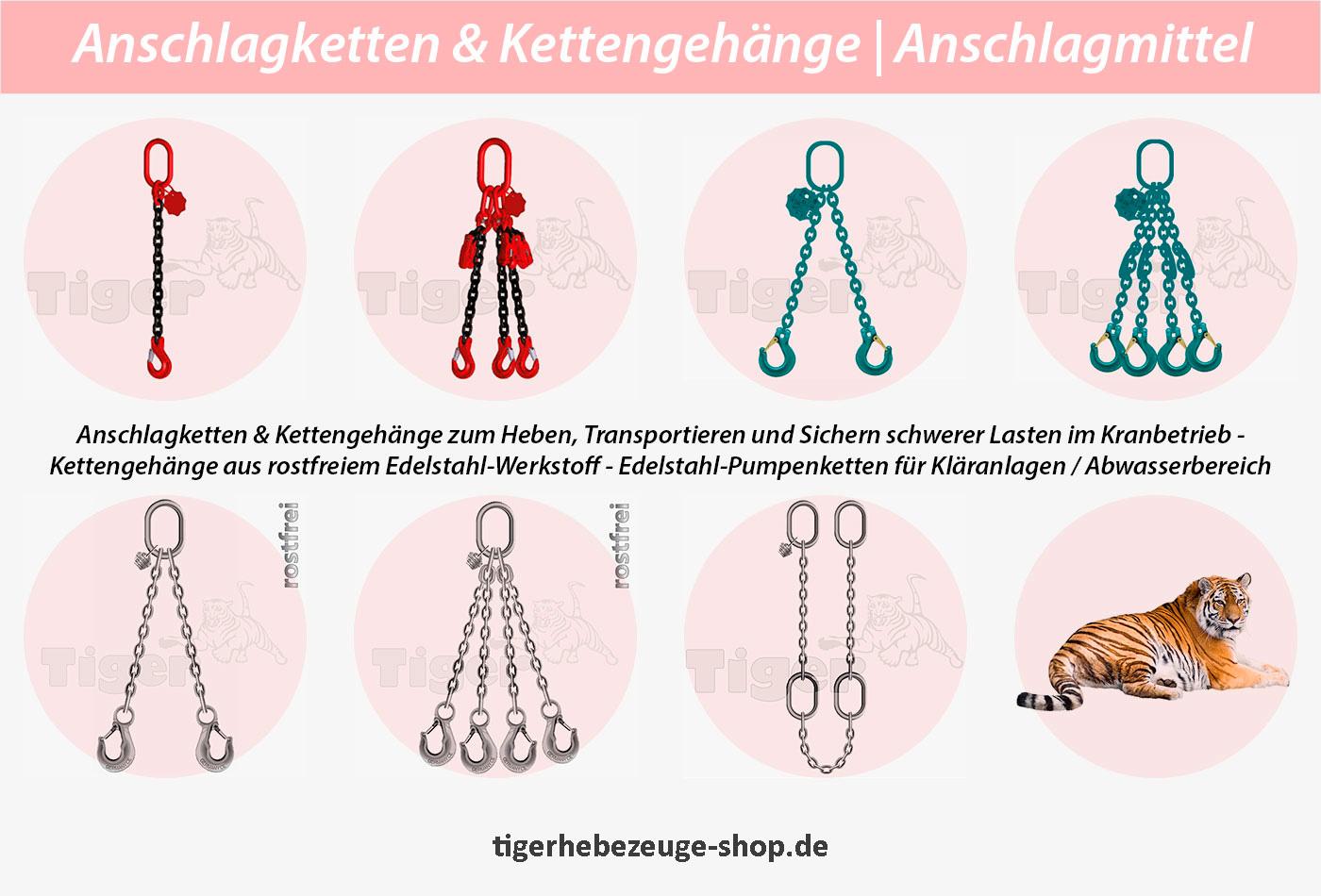 Anschlagketten Kettengehänge