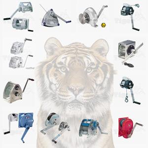 TigerHebezeuge Handseilwinden Kategoriebild mit Produkübersicht