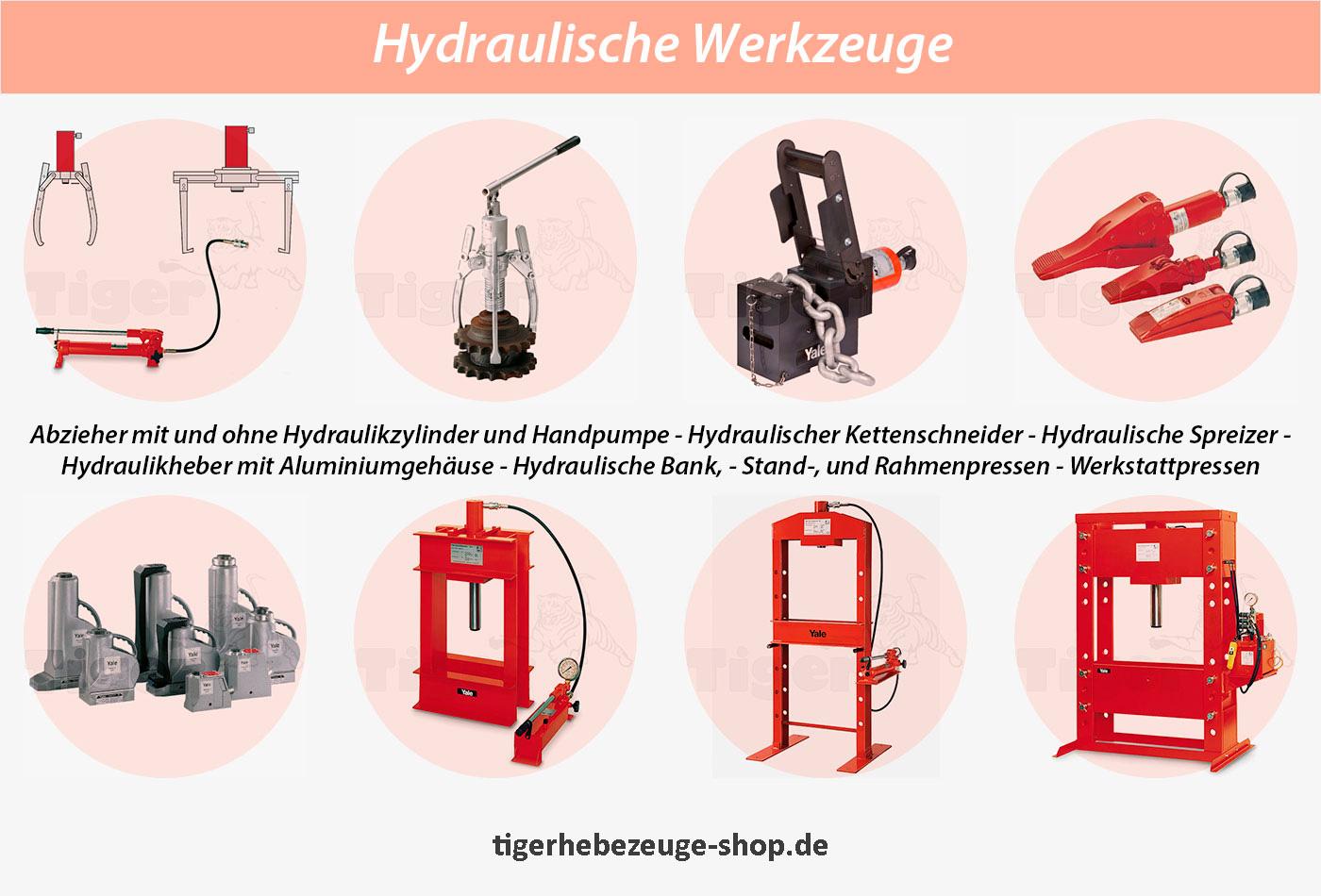 Hydraulik Werkzeuge Pressen