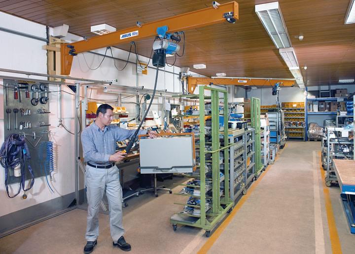 Arbeitsplatz Kran