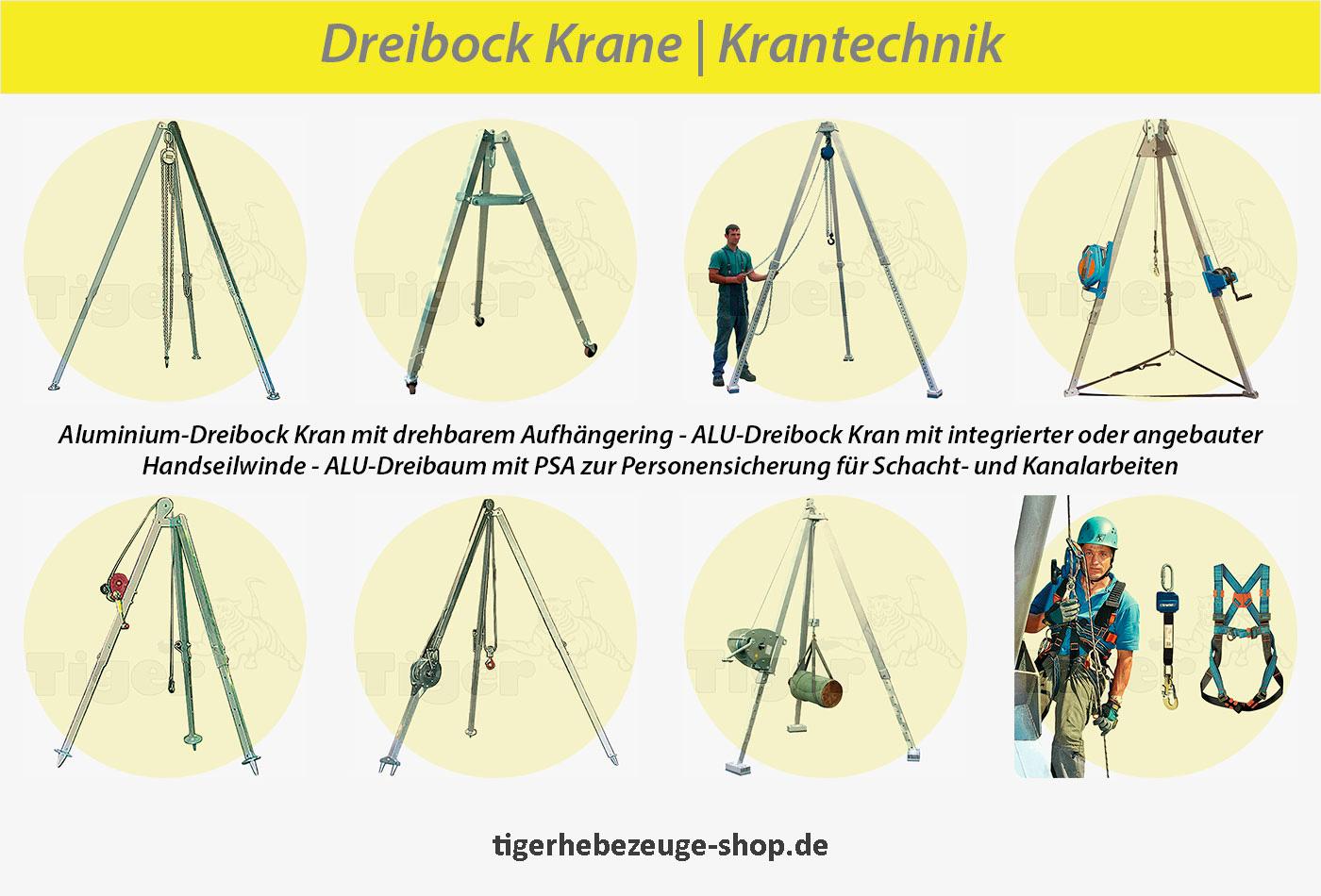 Dreibock Krane