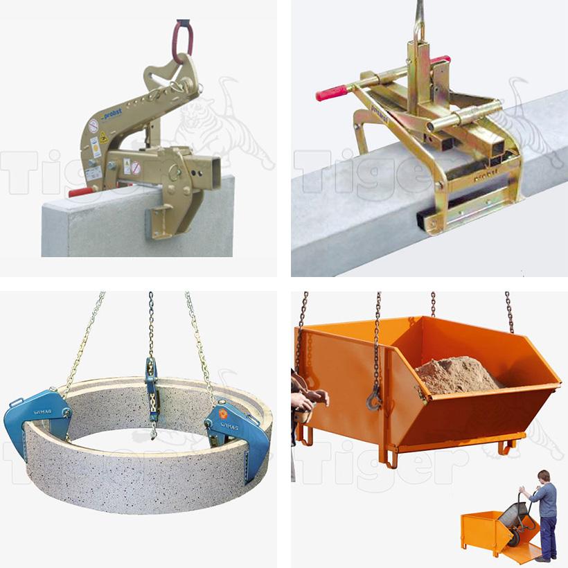 Hebewerkzeuge Baustelle