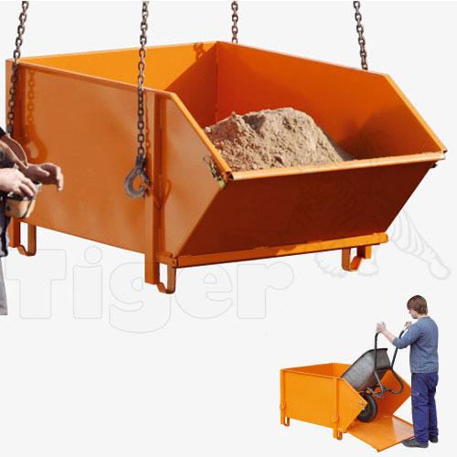 Baustoff Behälter