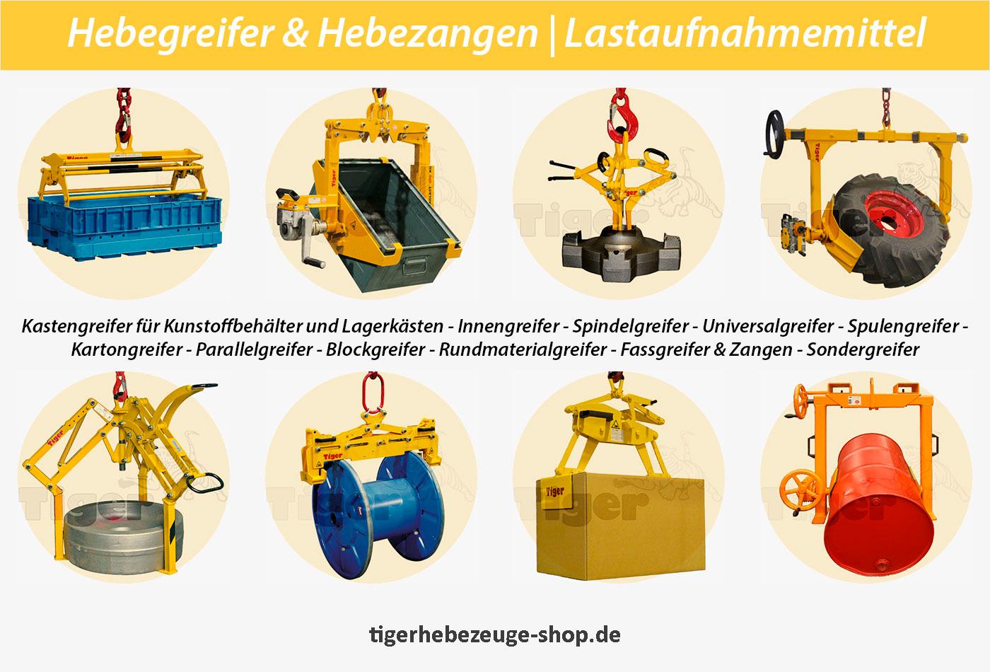 Hebegreifer & Hebezangen