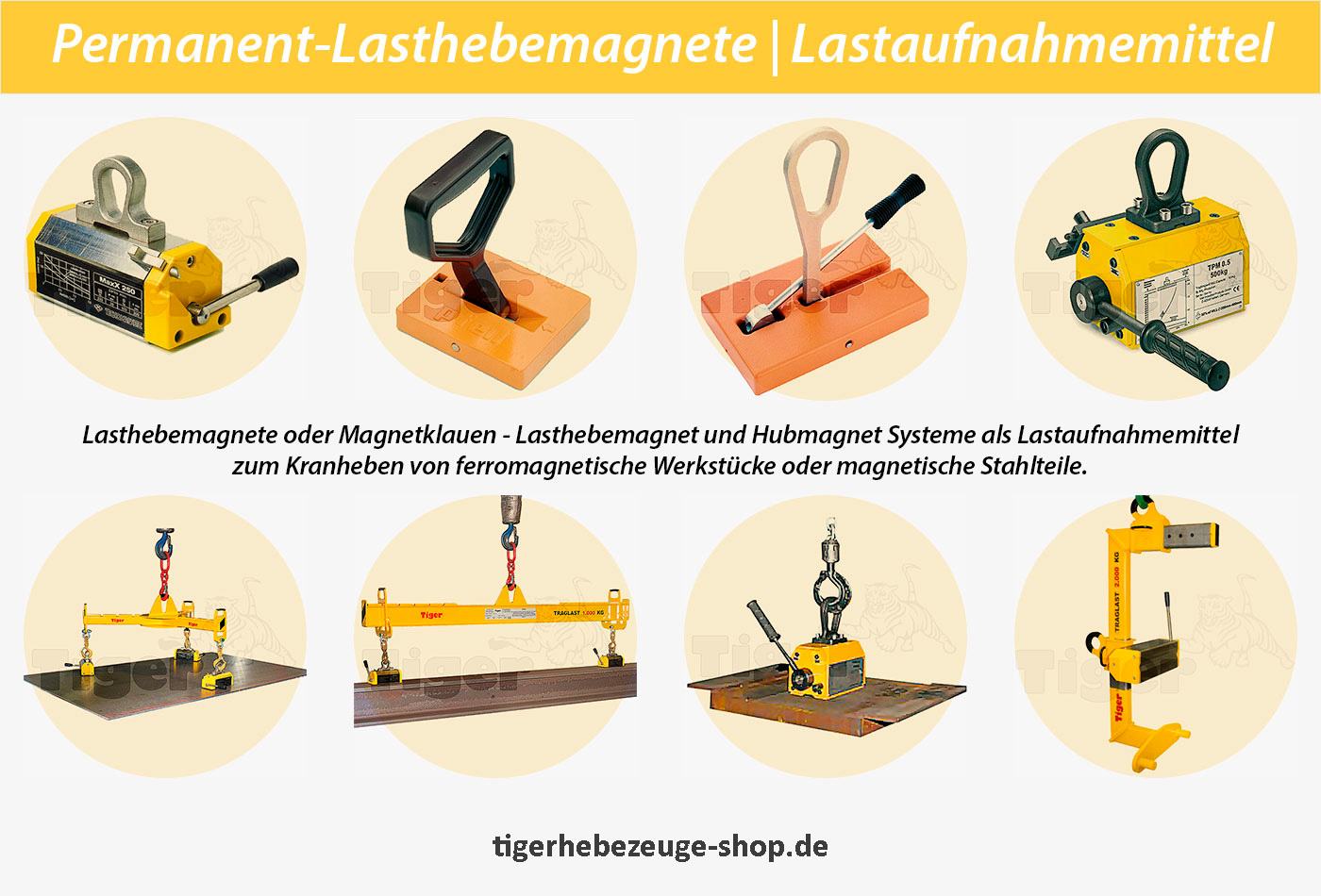 Permanent Lasthebemagnete