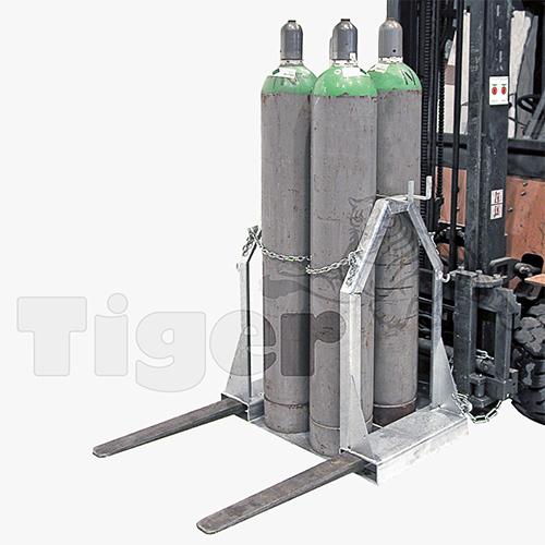 Stahlflaschen Palette SFP