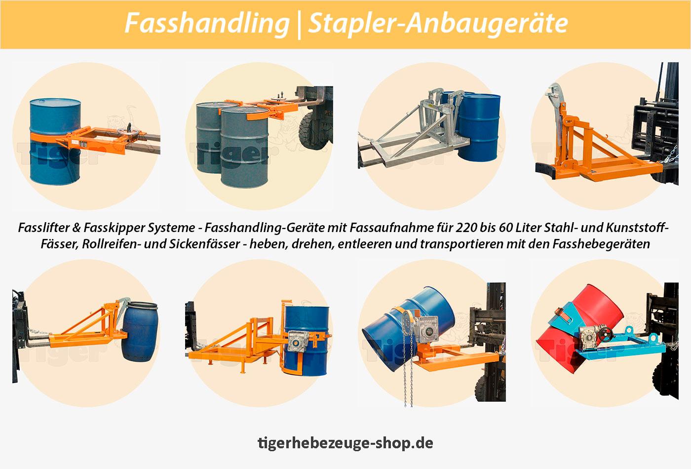 Fasslandling Stapler