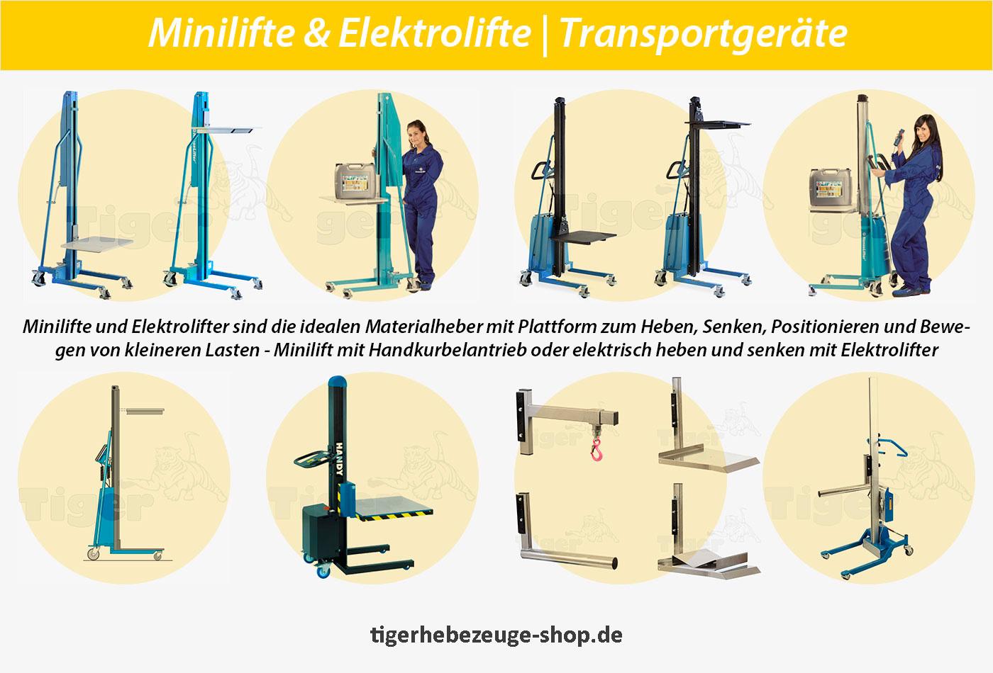 Minilifte - Elektrolifte