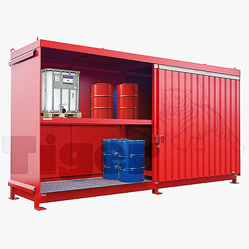 Gefahrstofflager Fass Container